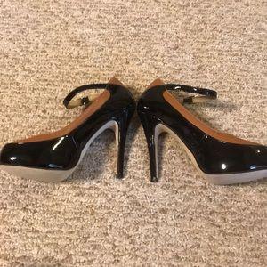 Jimmy Choo Shoes - Jimmy Choo Siskin Ankle Strap Two Tone Heels 38